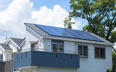 太陽光の電気も貯める!画像