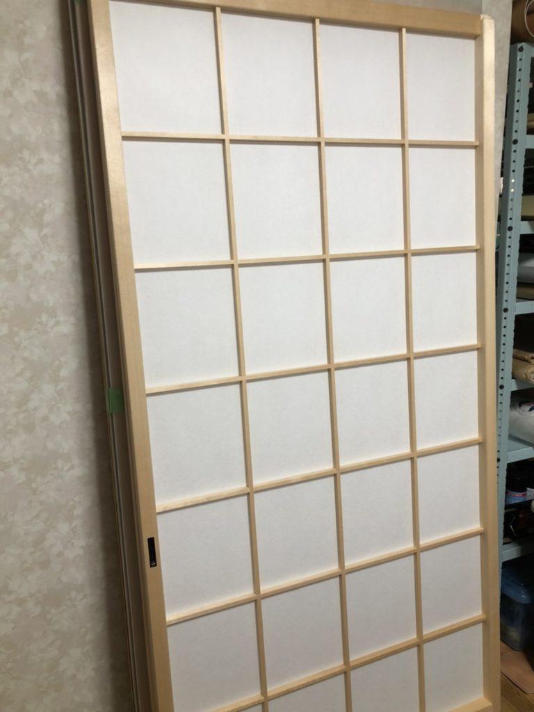 埼玉県幸手市にて障子の新調と張替画像